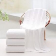 Махровое гладкокрашеное полотенце для ног