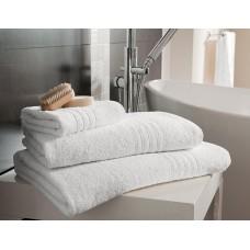 Махровое гладкокрашеное полотенце